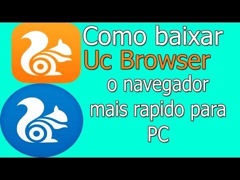 Baixar E Instalar O UC Browser Para PC,um Navegador Super Leve E Bonito
