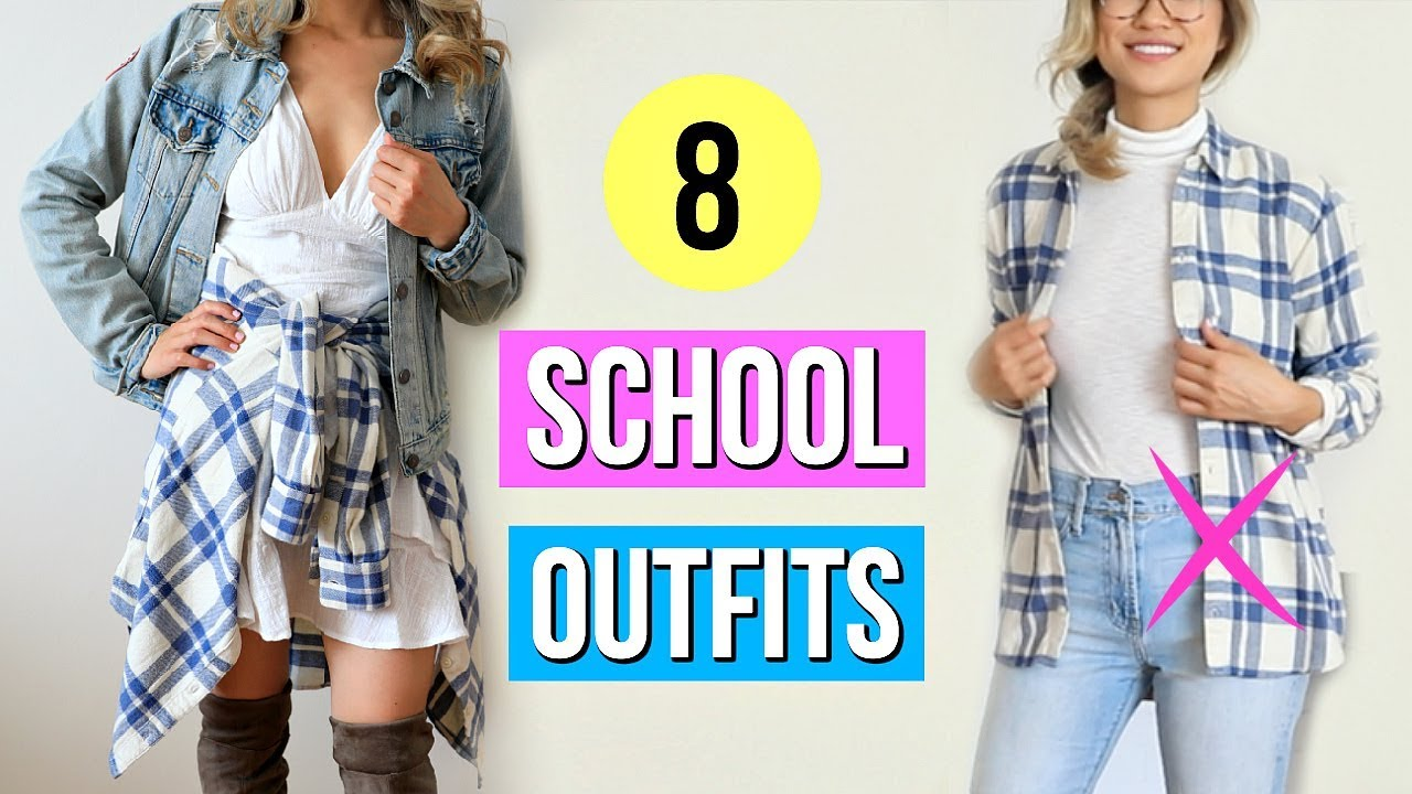 6 Back to School Outfit Ideas! What to Wear When You Have Nothing to Wear  EP 6?!