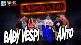 Baby Vespi VS Anto - El Matadero De Rimas MALLORCA #EMDR #WordFighters - 1080HD