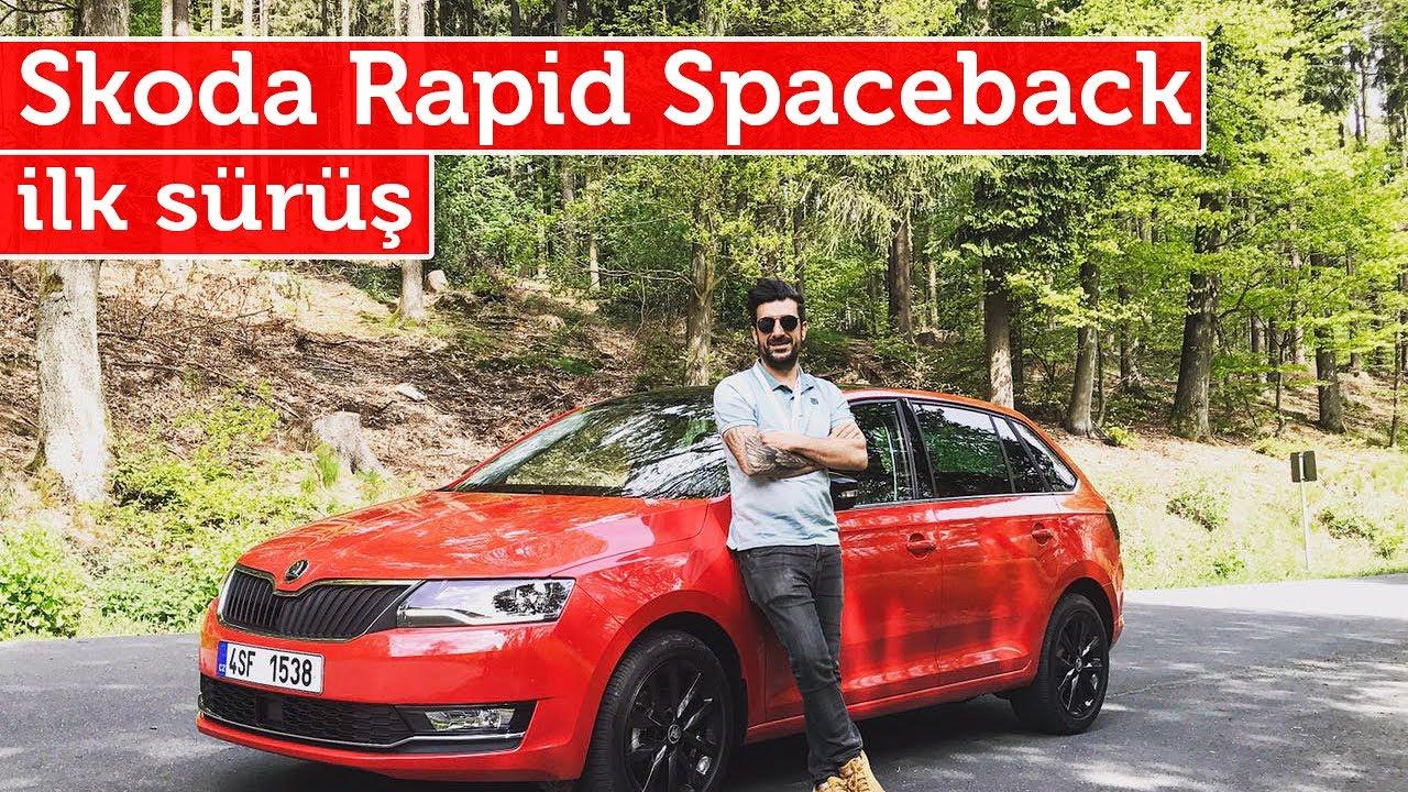 Doğan Kabak | Skoda Rapid Spaceback 2017- 1.0 yeni TSi Motor İlk Sürüş | Almanya/Frankfurt