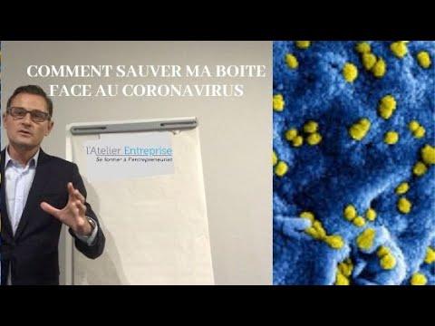 Comment sauver mon entreprise du Coronavirus (Covid-19)