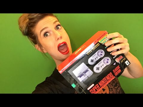 SNES Classic Unboxing! | 🎃🎃 Sponsors-only 🎃🎃