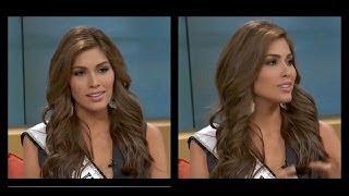 Miss Universo 2013, Gabriela Isler en Un Nuevo Día