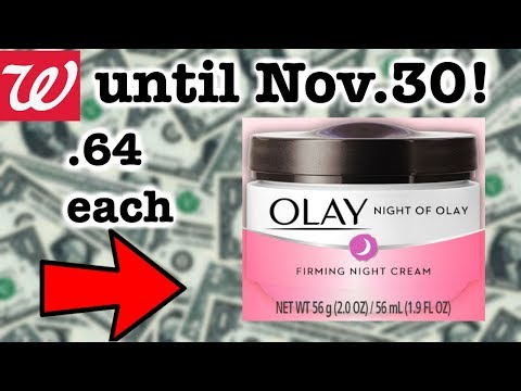Walgreens HOT OLAY Skincare Deal UNTIL NOV 30!