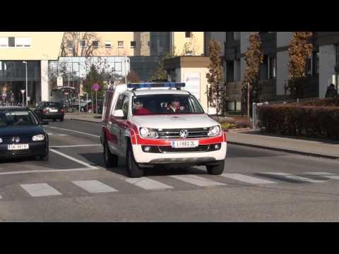 NEF Testfahrzeug Rotes Kreuz Oberösterreich