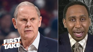 Stephen A. Reacts To John Beilein Calling Cavs Players 'thugs' During A Film Session | First Take