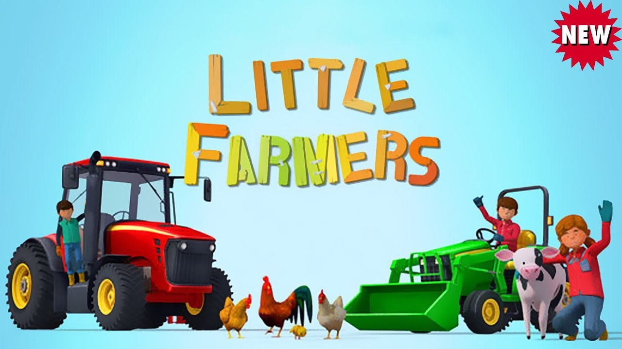 Tractor Tales for Kids - My Little Farmer with Tractors - Working ...