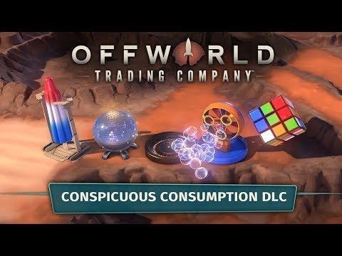 Offworld Trading Company - Conspicuous Consumption DLC Youtube Video