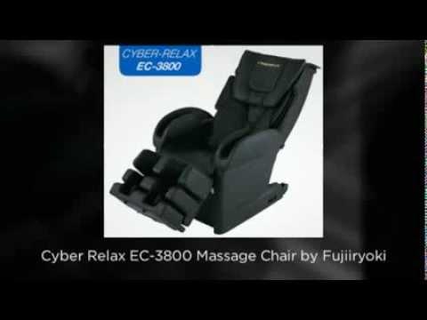 Fujiiryoki Cyber Relax EC 3800 Massage Chair Video