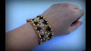 Браслет из бисера. Bracelet ! How to make bracelets ! Bracelet Tutorial !