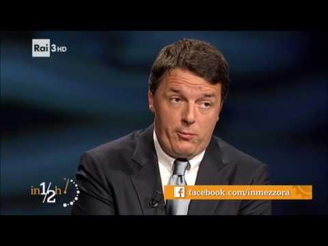 Matteo Renzi - In 1/2 ora del 23/10/2016