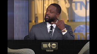 D-Wade and Shaq React to Draymond Green's Comments About Players On the Trading Block | NBA on TNT
