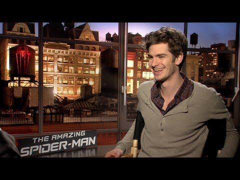 THE AMAZING SPIDER-MAN Interviews: Andrew Garfield, Emma Stone, Rhys Ifans, Martin Sheen and more!