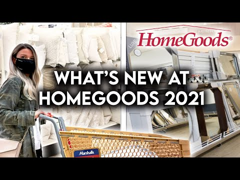 HOMEGOODS SHOP WITH ME 2021 | NEW HOME DECOR + ORGANIZATION