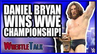 DANIEL BRYAN WINS THE WWE CHAMPIONSHIP! | WWE Smackdown Live Nov. 13, Review!