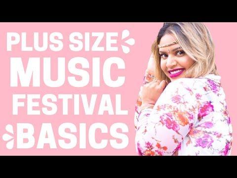 Plus Size Fashion: Music Festival Outfit Ideas
