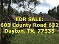 Dayton HUD Homes -- HUD King tours 603 County Road 632
