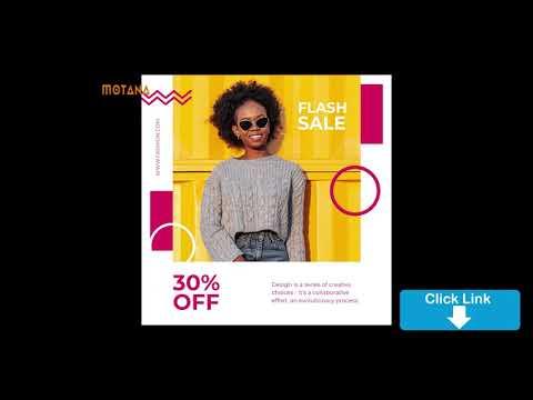 🔴 Fashion Flyer hướng dẫn thiết kế tờ rơi quảng cáo,banner quảng cáo thời trang Facebook, Google Ads