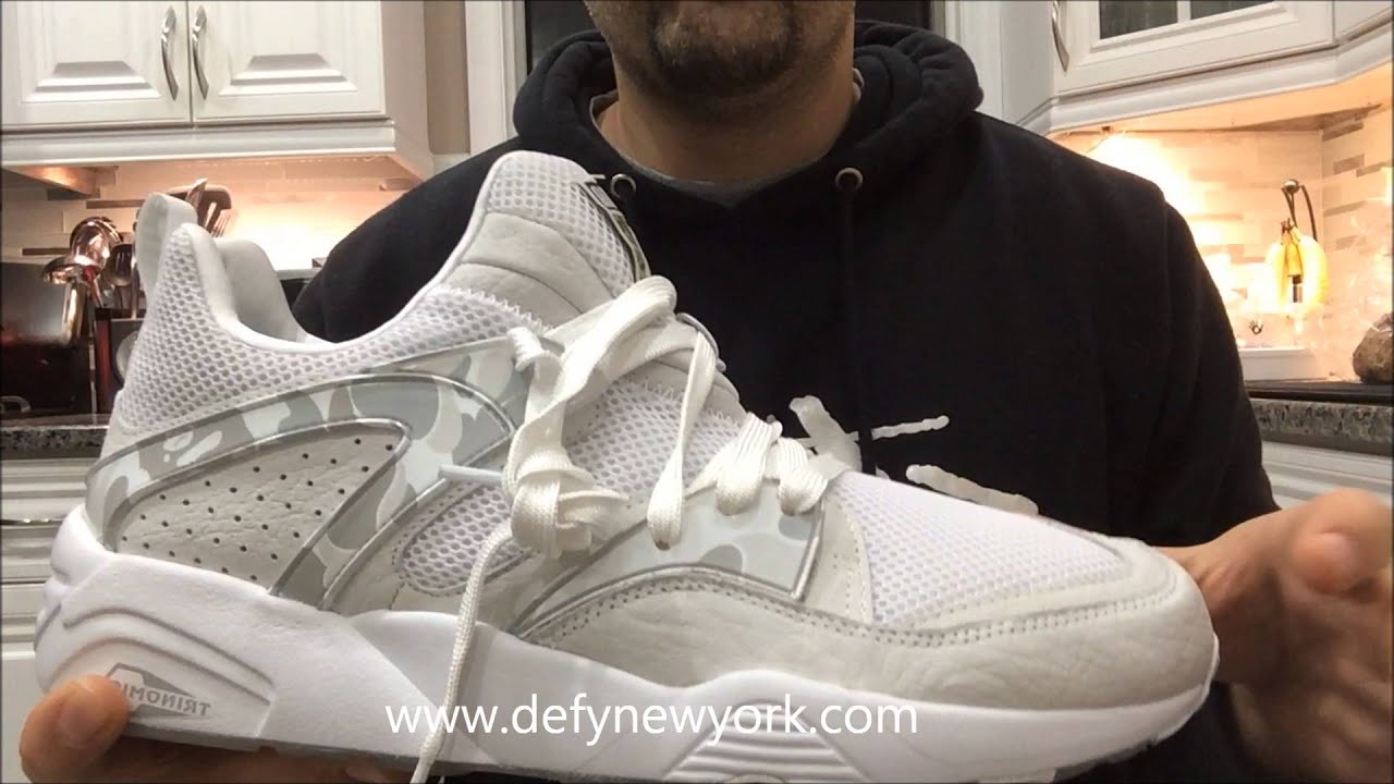 2be66f4d7ba5 LIVE! On Feet Puma Blaze Of Glory x Bape 2015 - YouTube