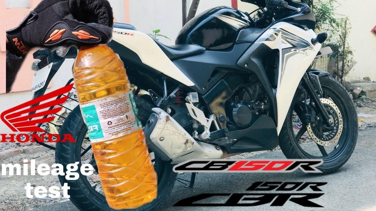 Honda Cbr 150 Mileage Test By Ak Motovlog Youtube Cover Shock 150r