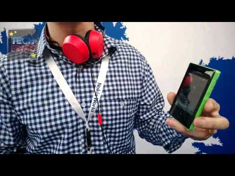 Nokia Asha 503 Full Demo at Nokia World 2013 in Abu Dhabi