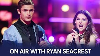 Anna Kendrick & Zac Efron Interview | On Air with Ryan Seacrest