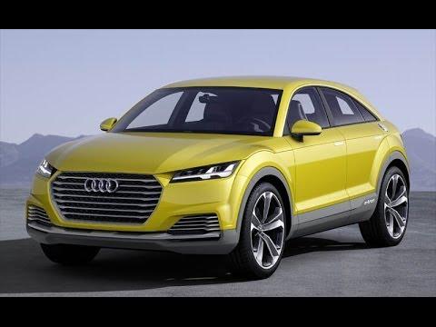 Audi TT Plug-In Hybrid AWD offroad SUV concept