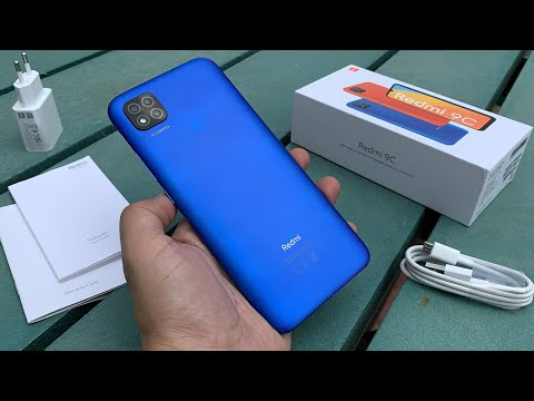 Xiaomi Redmi 9C unboxing and review