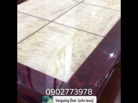 Bộ bàn ăn đá hoa cương www.bananmatdahoacuong.com