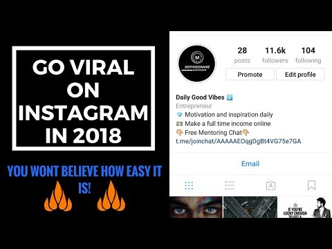 How To Go Viral On Instagram in 2018 - Beat The Instagram Algorithm In 2018