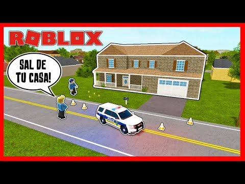 LA POLICIA RODEA MI CASA *EL CARNICERO KRAO #4* | LIBERTY COUNTY - Roblox
