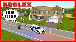 A POLÍCIA CERCAR A MINHA CASA * O KRAO CARAGRADÁVEL #4 * Condado de LIBERTY-Roblox
