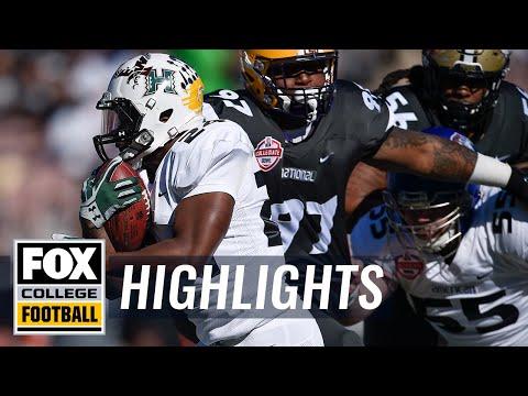 NFLPA Collegiate Bowl | Highlights | FOX COLLEGE FOOTBALL
