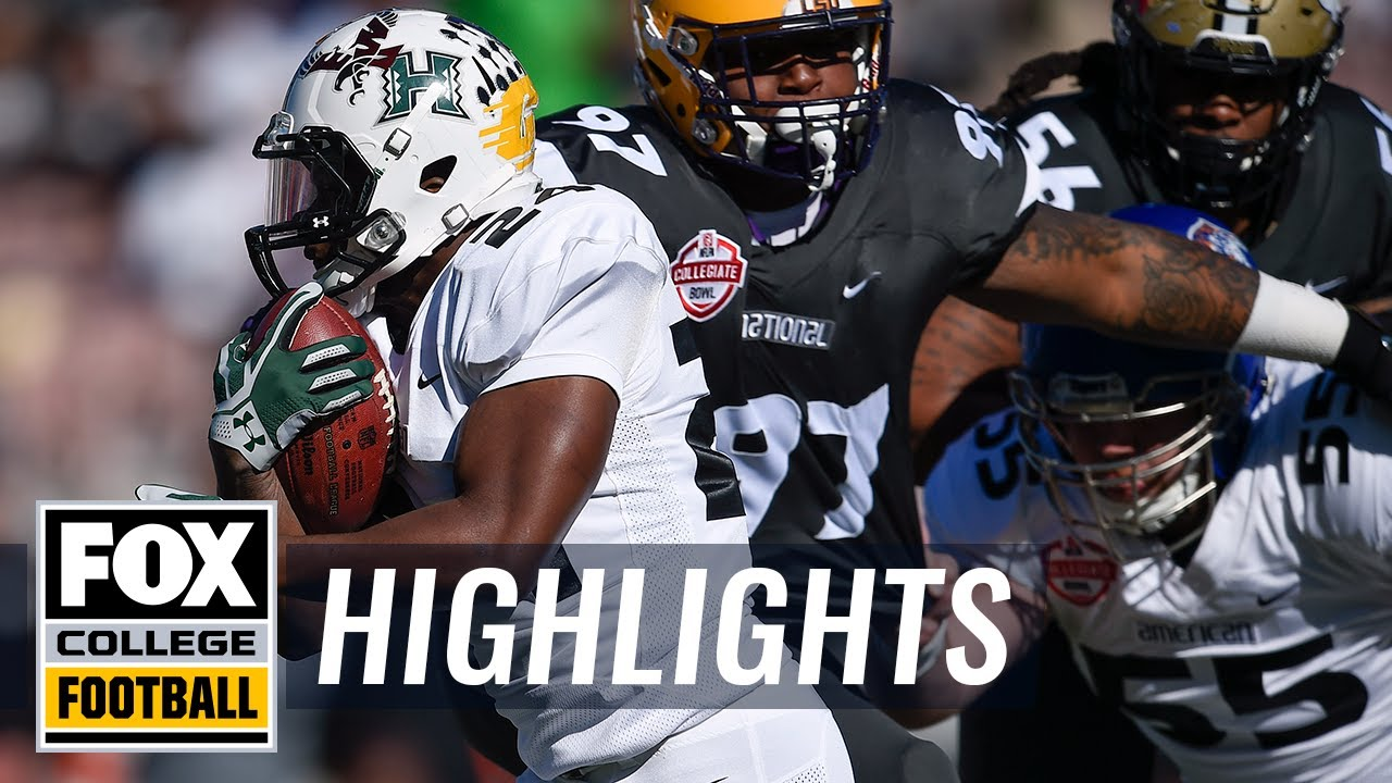 NFLPA Collegiate Bowl | Highlights | FOX COLLEGE FOOTBALL