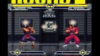 Mugen Battle # 537: Eiji Kisaragi Vs. Souji Kusanagi
