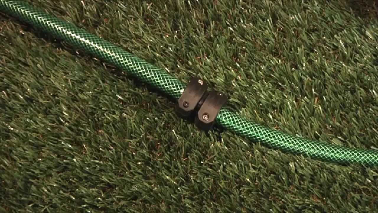 How to Repair a Hose with a Plastic Hose Mender - YouTube