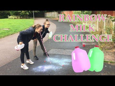 RAINBOW MILK CHALLENGE!