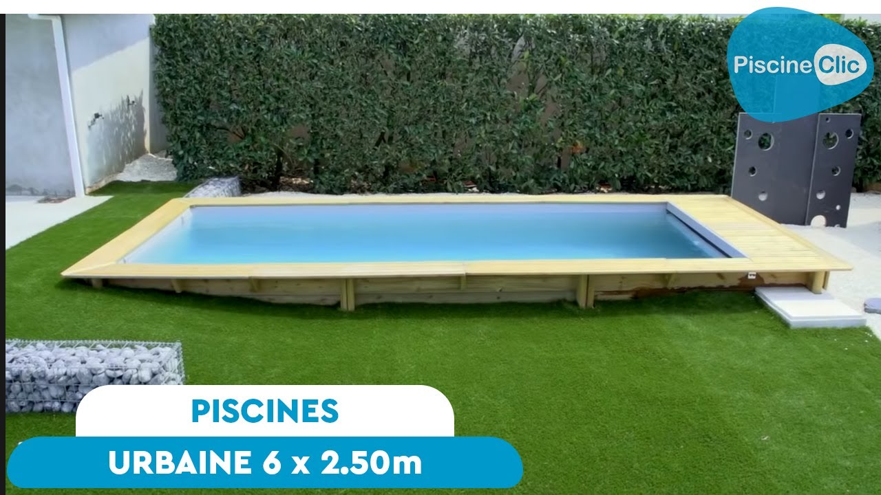 piscine urbaine en bois proswell 6 x 2 50 top innovation youtube. Black Bedroom Furniture Sets. Home Design Ideas