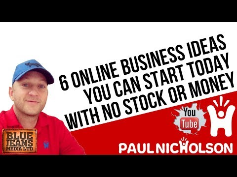 6 Online Business Drop Shipping Ideas With No Stock And Very Little Money For A Startup