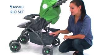 Бебешка количка   Lorelli   Combi Stroller RIO SET  EN    цена от 4BABY BG(WWW.4BABY.BG - Тук може да откриете нашите детски играчки стоки за бебето както и игри сортирани по категории...., 2015-03-07T16:48:00.000Z)