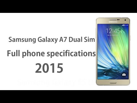 Samsung Galaxy A7 - Full phone specifications 2015