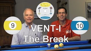 VENT I - The Break - Video Encyclopedia of Nine-ball and Ten-ball - Instructional DVD