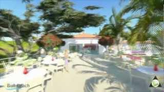 Bull Beach Hotel Pedasi Panama Ocean Waves Music Sun Beautiful Kites Day