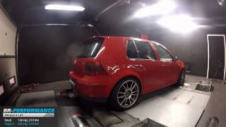 Reprogrammation Moteur VW Golf 4 1.8T 150hp @206hp (Stage 2) par BR-Performance