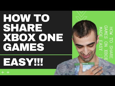 Xbox One How To GameShare 2020 Super Easy Guide!