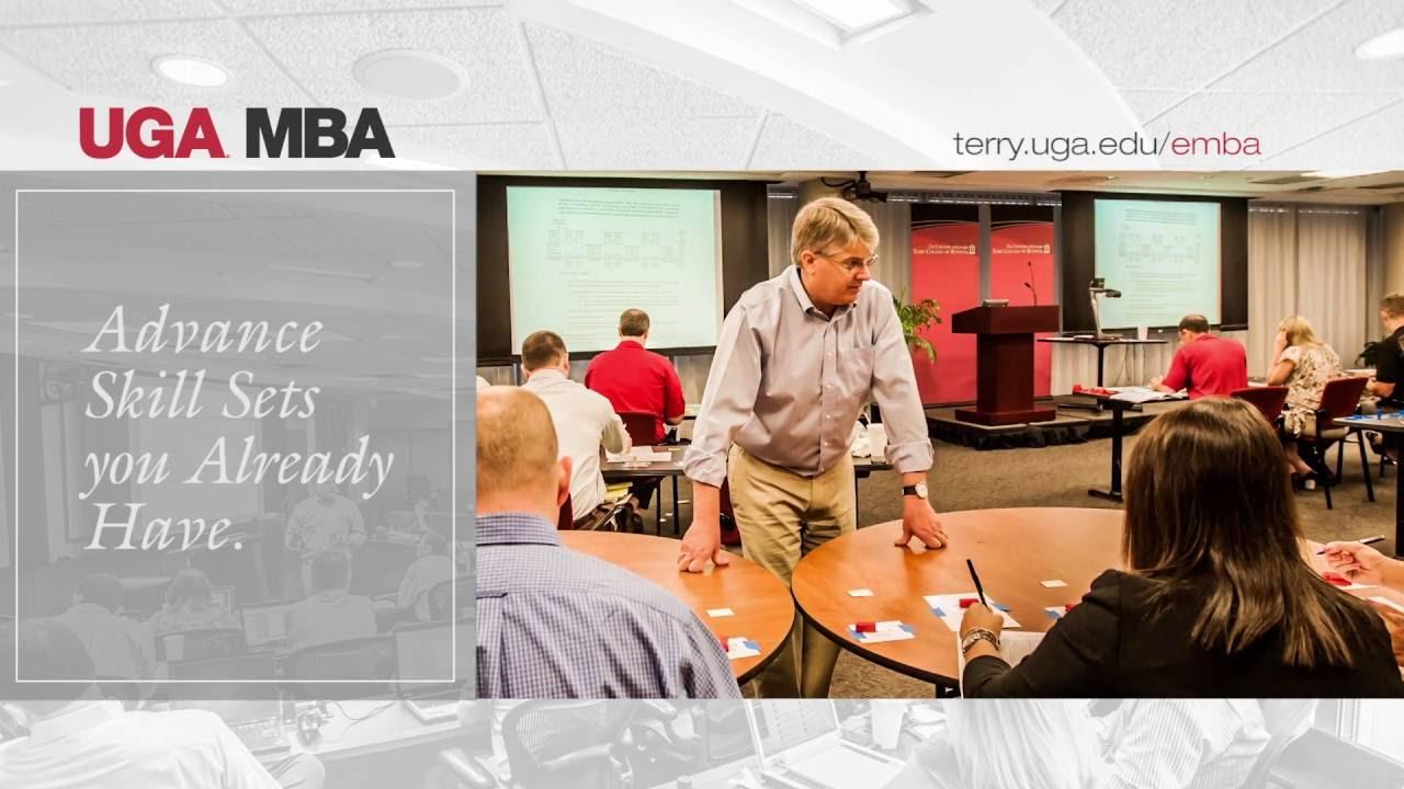 UGA Executive MBA Academic Experience - YouTube