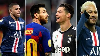 Ronaldo lalala VS Messi Old Town Road VS Neymar Dance Monkey VS Mbappe Señorita
