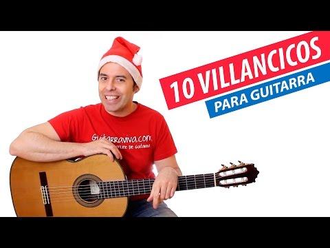 Los 10 Mejores Villancicos que debes conocer en guitarra con acordes | Top 10