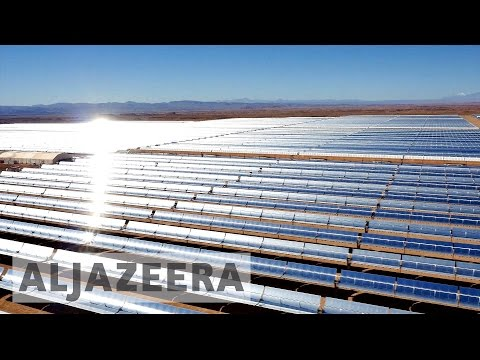 Climate SOS: Talks expand solar power facilities in Morocco