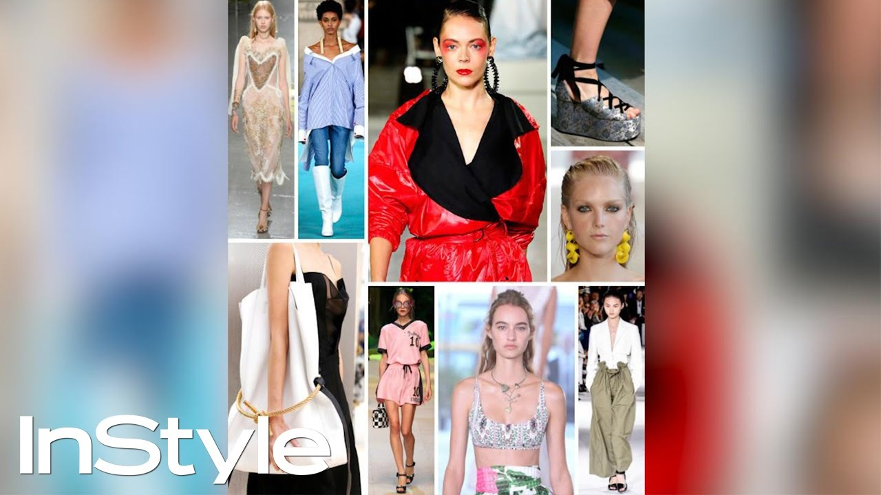 Spring 2017 Fashion Trends Instyle Youtube